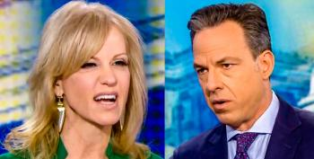 'That's Beneath You': Jake Tapper Grills Kellyanne Conway After She Calls Trump's Charlottesville Remarks 'Perfect'
