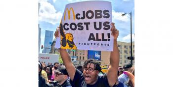 Victory!  McDonald's Surrenders On Minimum Wage Fight