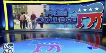 Fox Guest Mocks Warren's College Plan: 'Free Buffet'