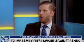 Eric Trump Thinks Dems Give A Crap That Tiffany Drinks Beer