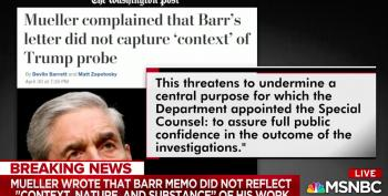 Robert Mueller Blasted AG Barr For Distorting His Report