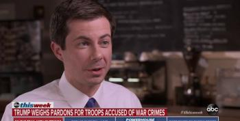 Mayor Pete Buttigieg: Trump Slandering Troops With Potential Pardons For War Criminals