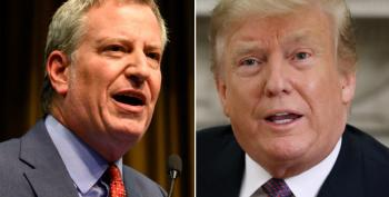 I Welcome Bill De Blasio Into The Race If He Can Rattle Trump