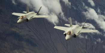 F-35 Dogfight Exercise Results In Yet Another 'Sky Penis'