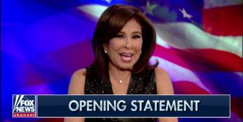 Jeanine Pirro Licks Her Chops Imagining 'Crime Family Head' Comey Ratting Out Obama