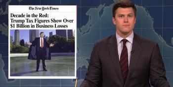 SNL Rips Mr. 'Art Of The Deal' For Losing Over $1 Billion