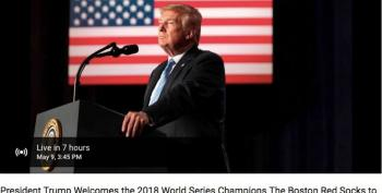Trump To Welcome World Series Champion Boston Red 'Socks' To White House