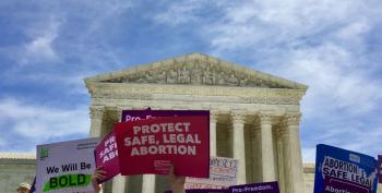 Democrats Join Rally At SCOTUS To Stop Abortion Bans