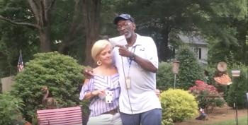 Atlanta Suburb Sends Long-Time Mail Carrier Into Retirement With Love And Style