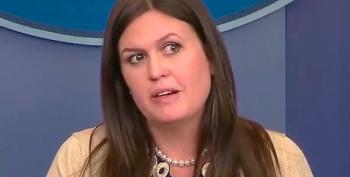 Sarah Huckabee Sanders Is Not A Press Secretary