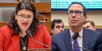 Rashida Tlaib Tells Mnuchin To Lawyer Up