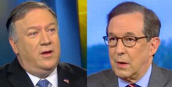 Chris Wallace Pounds Mike Pompeo After Trump Fails To Confront Putin On Election Attacks