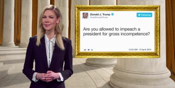 Watch The Daily Show Ad For Trump's 'Presidential Twitter Library' Running On Fox News This Week