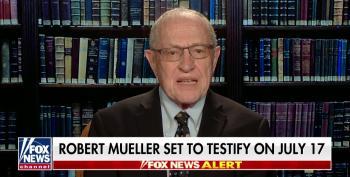 'Liberal Democrat' Dershowitz Helps Fox Pre-Discredit Mueller Testimony