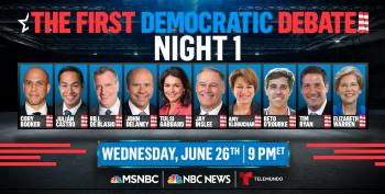 C&L Snap Poll: Who Won The First Democratic Primary Debate Of 2019?