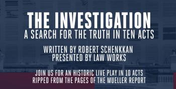 Hollywood Stars Read 10-Act Play Based On Mueller Report
