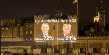 London 'Welcomes' Donald Trump