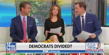 Fox & Friends Laughs While Reading Trump's Bigoted 'Go Back To Africa' Tweets