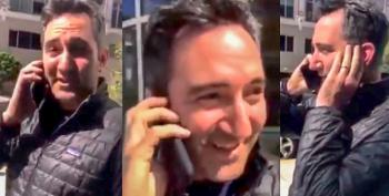 Video Nabs White Man Calling Police On Black Man For Waiting Outside Apartment For Disabled Friend
