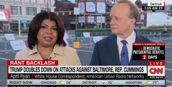 April Ryan Takes Down Trump For Racist Baltimore Rant