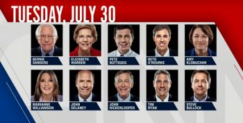 C&L Snap Poll: Who Won Tuesday's CNN Democratic Debate?