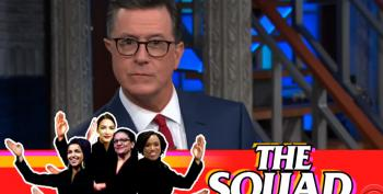 Colbert: Trump Flip Flops Daily On 'Send Her Back' Chant