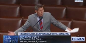 Sean Duffy Has Meltdown Trying To Defend Trump's Racism