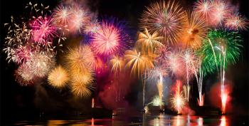 Red, White But Rarely Blue - The Science Of Fireworks Colors