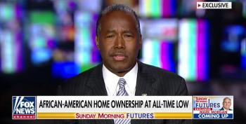 Ben Carson Acknowledges Black American Home Ownership Is At Record Low Under Trump