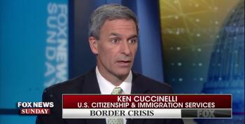 USCIS Head Cuccinelli Refuses To Accept Responsibility For Horrid Conditions At Detention Facilities