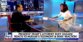 Fox's Pirro And Giuliani Accuse Mueller Of Being Senile And Also Part Of A 'Deep State' Conspiracy