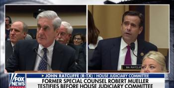 Republican Congressman Uses His Mueller Hearing Five Minutes As Audition For Administration Job