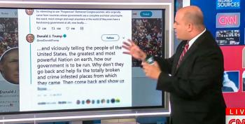 CNN Coverage Correctly Labels Trump's Tweets As 'Straight-up Racist'