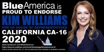 Blue Dog Jim Costa's Strong Progressive Opponent, Kim Williams