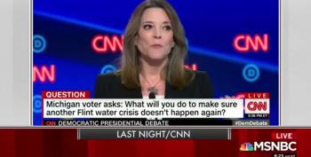 Scarborough Gives Marianne Williamson Points In Democratic Debate