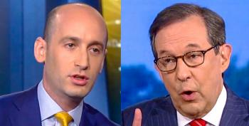 Chris Wallace Pounds Stephen Miller With Trump's History Of Racism: 'He Is Stoking Racial Divisions'
