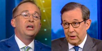 Chris Wallace Grills Mick Mulvaney About Trump's Racist Slurs: 'The Worst Kind Of Racial Stereotype'
