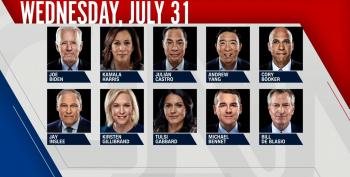 OPEN THREAD: Night Two Of CNN Democratic Debate