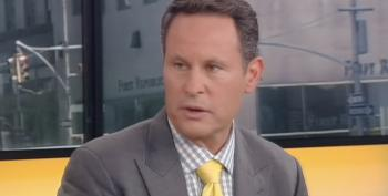 Fox Friend Brian Kilmeade Tries To Smear Lipstick All Over Trump's Pig