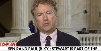 Rand Paul Whines About 'Guttersnipe' Jon Stewart