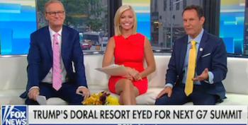 Trump's Fox Friends Work Overtime To Sell Trump's Doral Club For G-7 Summit