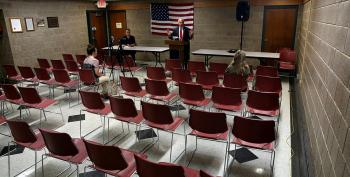Only Two People Bother To Show Up For Steve King Town Hall