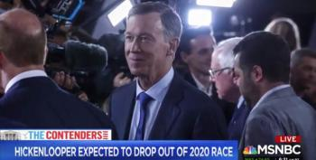 Hickenlooper Out Of Presidential Race [Updated]