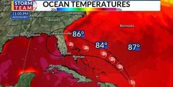 Hurricane Dorian Expected To Become Cat 3 Storm As It Hits Florida