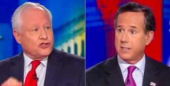 Rick Santorum Pouts About Personal Attacks After Bill Kristol Calls Him A 'Demagogue' For Trump