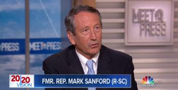 Mark Sanford Says He'll Still Vote For Trump Over Any Democrat Even Though He Doesn't Deserve Reelection