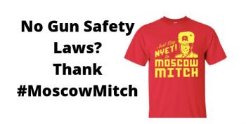#MoscowMitch And The NRA: Why 90 Percent Of Americans Who Want Gun Control Can't Get It