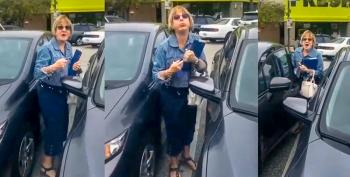 'Chinky, Chinky, China Lady': White Woman Goes On Racist Rant After Allegedly Hitting Asian Woman's Car