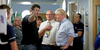 Boris Johnson Confronted By Angry Father: 'The NHS Has Been Destroyed'