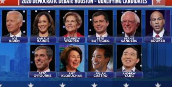 C&L Snap Poll: Who Won Tonight's Democratic Primary Debate?